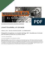 Colorado, Oscar - Josef Koudelka, el nómada   Oscar en Fotos.pdf