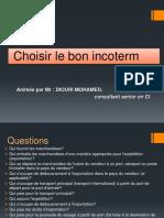 Choisir Les Bon Incoterms