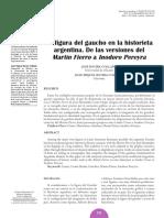La Figura Del Gaucho en La Historieta Ar