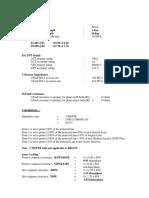 Rel670 Manual Calculation