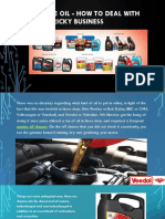 Engine Oil - How to Deal with This Tricky Business