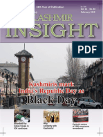 Kashmir Insight February 2018