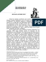 LA TRADICIÓN CLÁSICA EN LA HISTORIA TROYANA POLIMÉTRICA