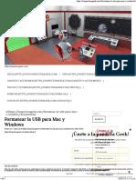 Formatear La USB Para Mac y Windows 1