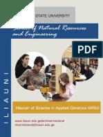 MSc in Applied Genetics