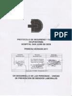 Protocolo Seguridad y Salud Ocupacional