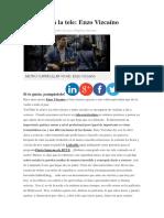 Artículo - Del Metro a La Tele. Videocurrículum