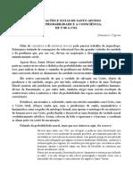Dissertações e Notas de Santo Afonso