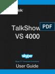 Vs 4000 User Guide
