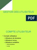 06 GESTION DES UTILISATEURS