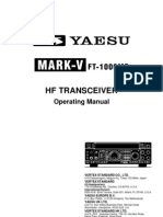 Yaesu MARK-V FT-1000MP Operating Manual R1
