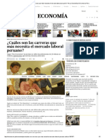 ¿Cuáles son las carreras que más necesita el mercado laboral peruano_ _ Peru _ Economía _ El Comercio Peru.pdf