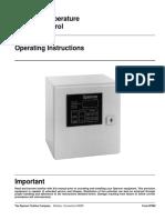 Bearing Temperature Monitor Control