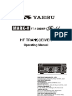 Yaesu MARK-V FT-1000MP Operating Manual