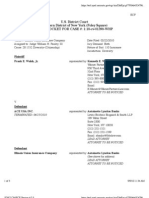 WALSH v. ILLINOIS UNION INSURANCE COMPANY Docket