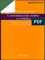 Friedrich Schlegel, Conversación sobre la poesía.pdf