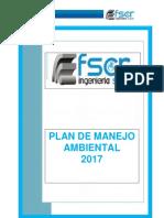 Plan de Manejo Ambiental de La Empresa Fscr Ingenieras s.a.s