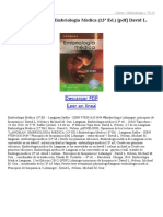 Langman Embriologia Medica (13ª Ed)