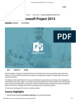 Diploma in Microsoft Project 2013 - Visio Learning