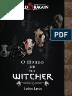 Old Dragon O Mundo de the Witcher