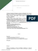 CAPURRO_ Epistemologia e Ciencia Da Informacao