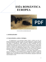 8. La Poesía Romántica Europea