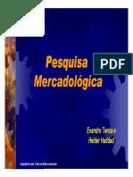 Aula Pesquisa Mercadologica