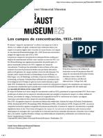 02.03. Los campos de concentración, 1933–1939