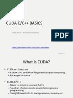Introduccion CUDA C