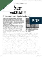 02.04. a Segunda Guerra Mundial Na Europa