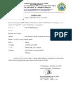 Surat Tugas Monitoring