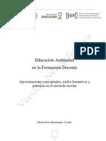 Educación ambiental en la formación docente.pdf