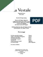 La Vestale Libretto Spontini