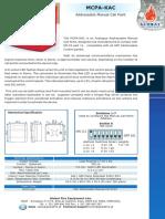 Mcpa-kac Data Sheet