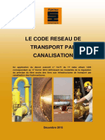 Code Reseau Transport Canalisation