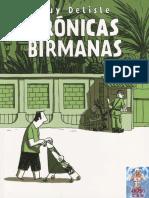Crónicas Birmanas -Guy Delisle