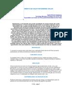 AQUECIMENTO DE ÁGUA POR ENERGIA SOLAR.doc