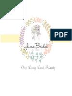 Price List Jeima Bridal18