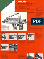 Manual Pistola de Fijacion
