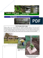September 2007 Manawatu, Royal Forest and Bird Protecton Society Newsletter
