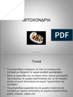 ΜΙΤΟΧΟΝΔΡΙΑ-MITOCHONDRIA