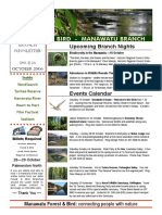 October 2006 Manawatu, Royal Forest and Bird Protecton Society Newsletter