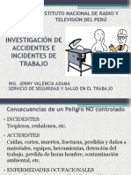 Accidente e Incidentes de trabajo - 2016.pptx