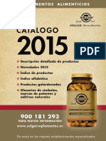 Catalogo Solgar 2015 WEB