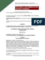 ley de protección a los animales CDMX actual 2017.pdf