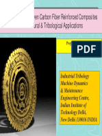 2012_Optimization of Woven Carbon Fiber Reinforced Composites for Structural & Tribological Applicat_PPT