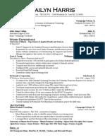 harris kailyn resume 2017 tech