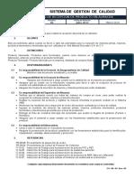 PR-10-01 Procedimiento de Recepción de Producto en Almacén. Rev. 02