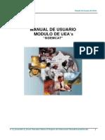SIDEMCAT - Registro de Informacion - UEAs
