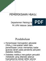 pemeriksaan HbA1c